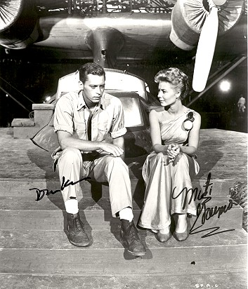 "John Kerr and Mitzi Gaynor in ""South Pacific,"" 1957"
